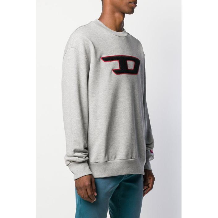 Diesel Men's Sweatshirt Grey 294075 - grey M