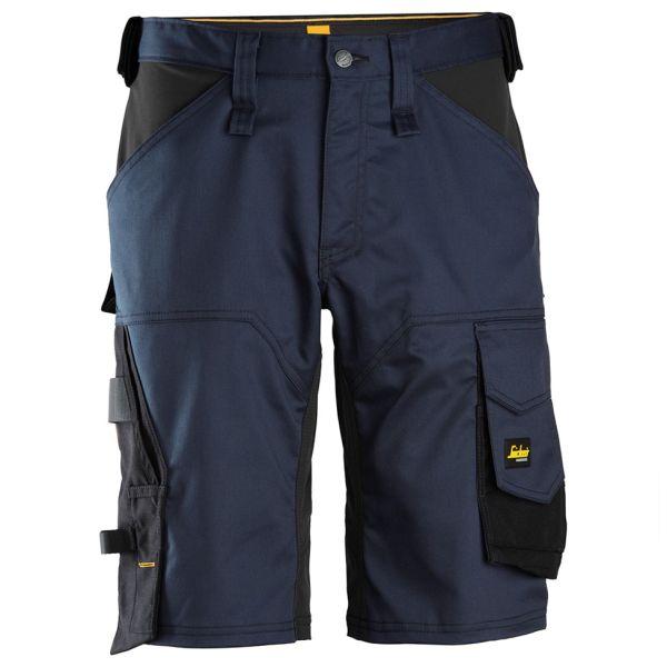 Snickers 6153 AllroundWork Shorts marineblå/svart 44