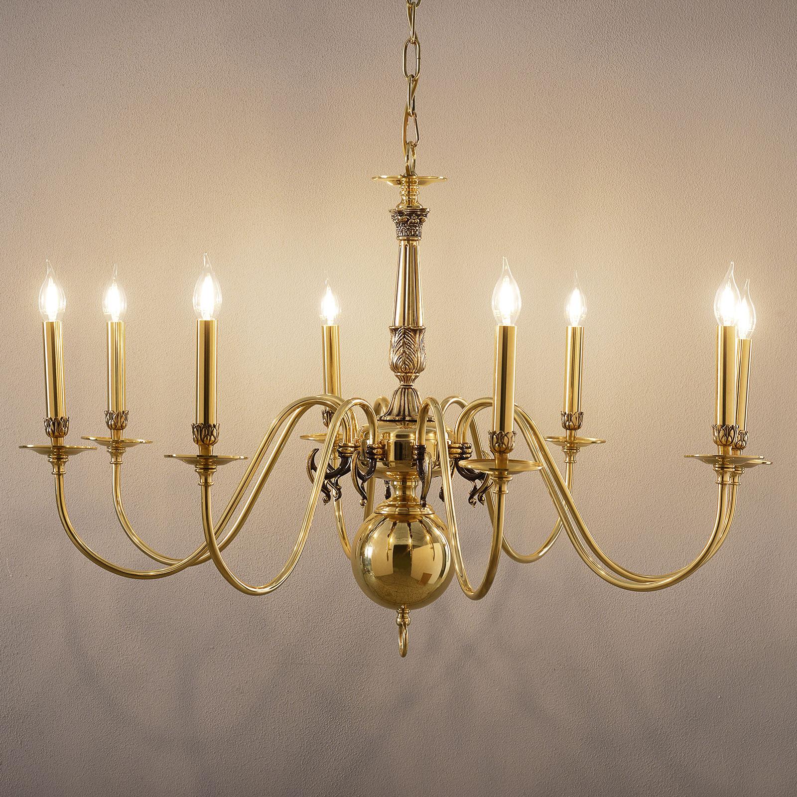 8-lamppuinen HOLANDESAS-kattokruunu