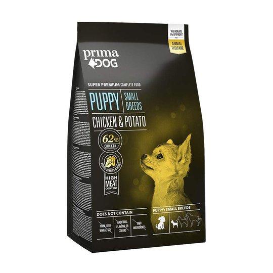 PrimaDog Puppy Small Breeds Chicken & potato 2 kg