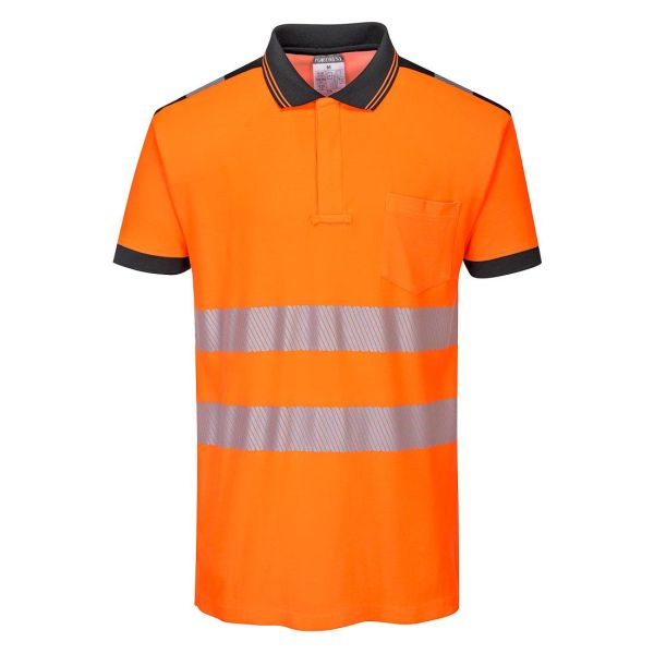 Portwest PW3 Pikétröja Hi-Vis orange XS