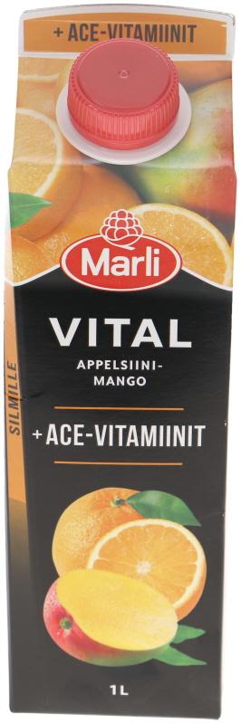 Mehujuoma Appelsiini & Mango - 30% alennus