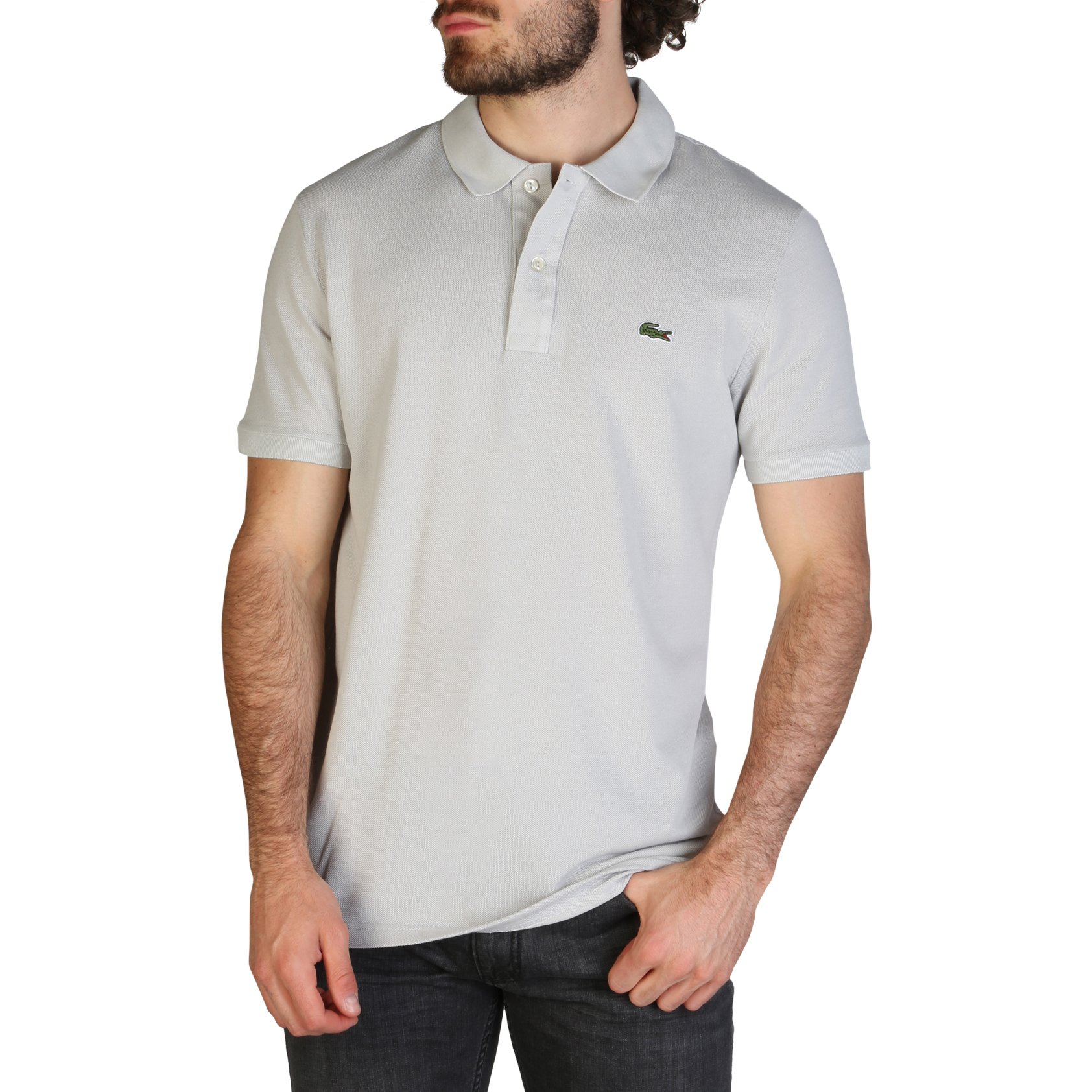 Lacoste Men's Polo Shirt Various Colours PH4012_SLIM - grey S