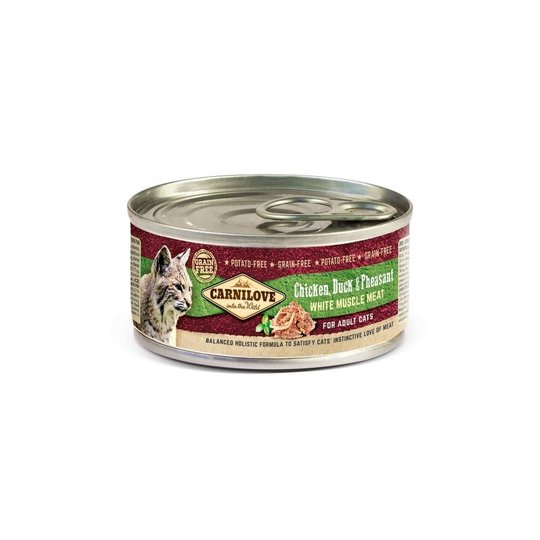 Carnilove Cat Adult Chicken, Duck & Pheasant 100 g