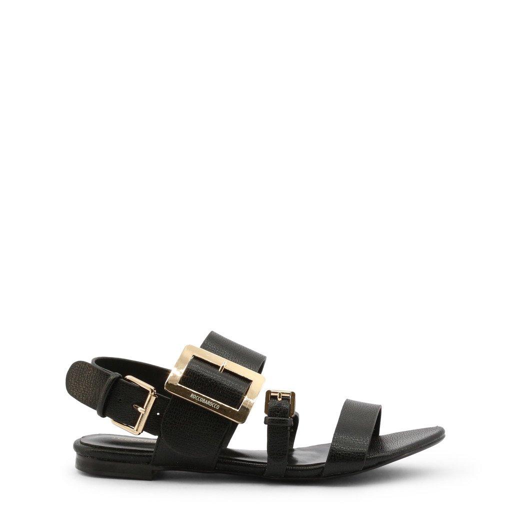 Roccobarocco Women's Sandals Black 342761 - black EU 36
