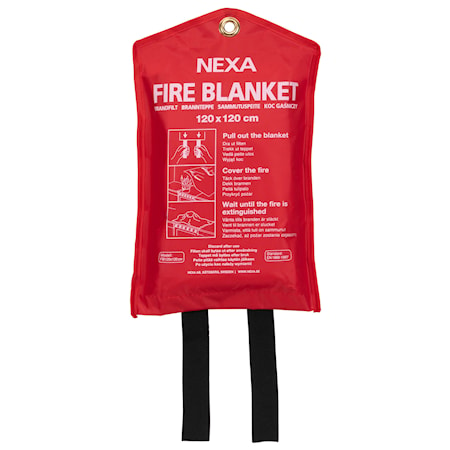 Nexa Fire & Safety BF-120 Brandfilt röd 120x120