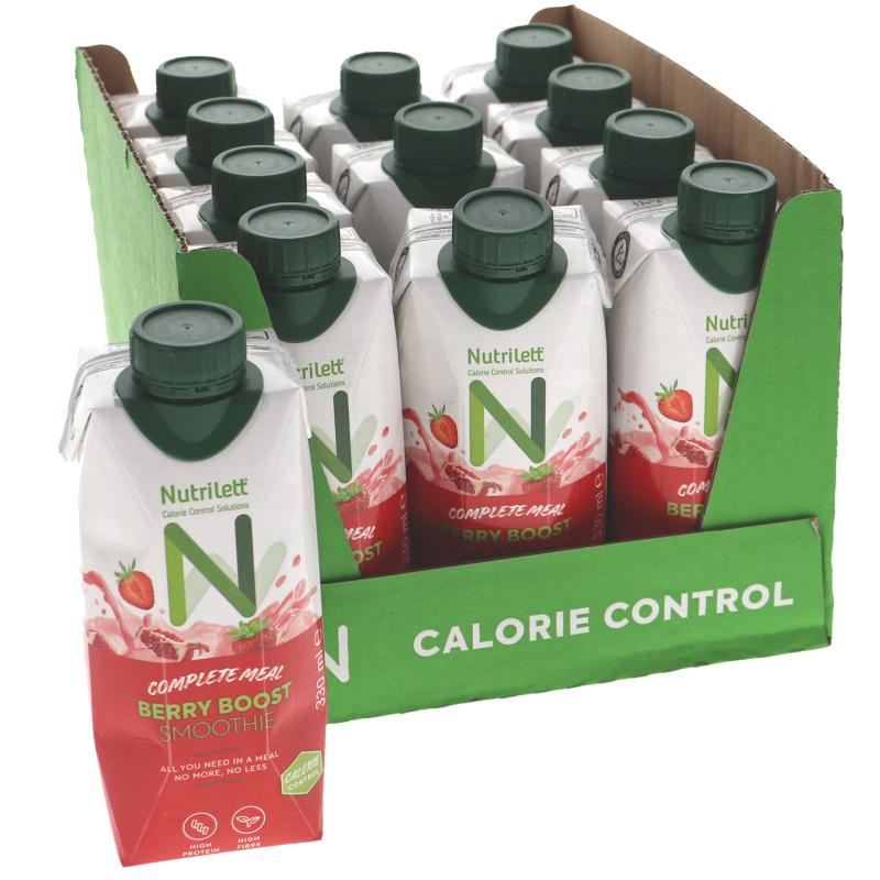 Måltidsersättning Berry Boost 12-pack - 23% rabatt
