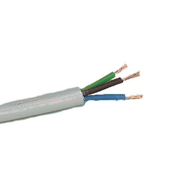 Nexans RKK Tilkoblingskabel uten grønngul jordleder 2 x 0,75 mm², hvit,