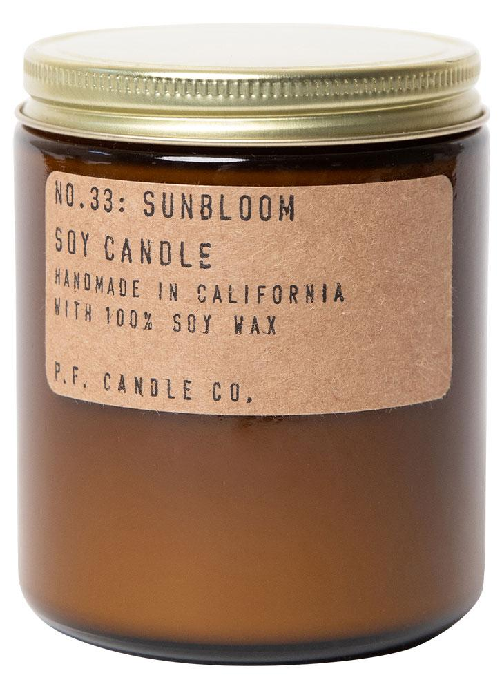 P.F. Candle Co. No. 33 Sunbloom Standard Soy Jar Candle