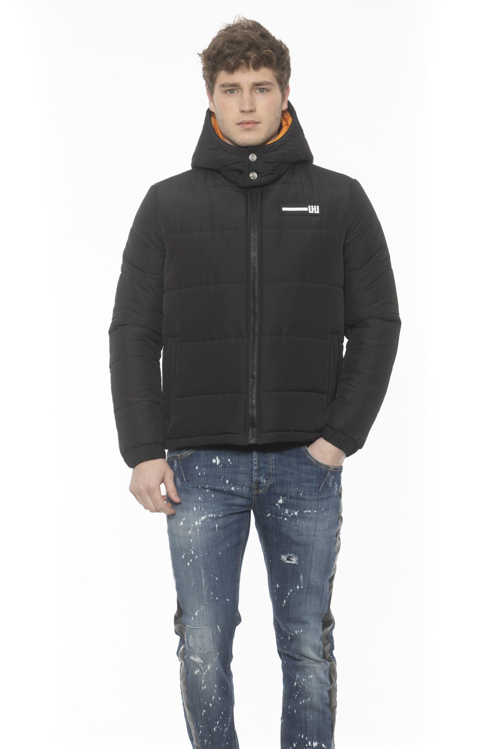 Les Hommes Men's Jacket Black LE1393397 - IT50 | L