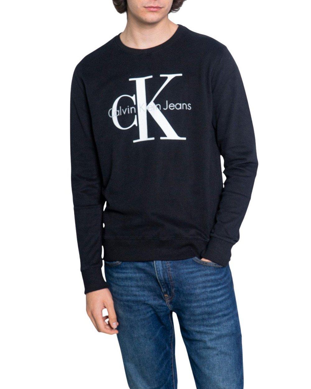 Calvin Klein Jeans Men's Sweatshirt Various Colours 188994 - black S