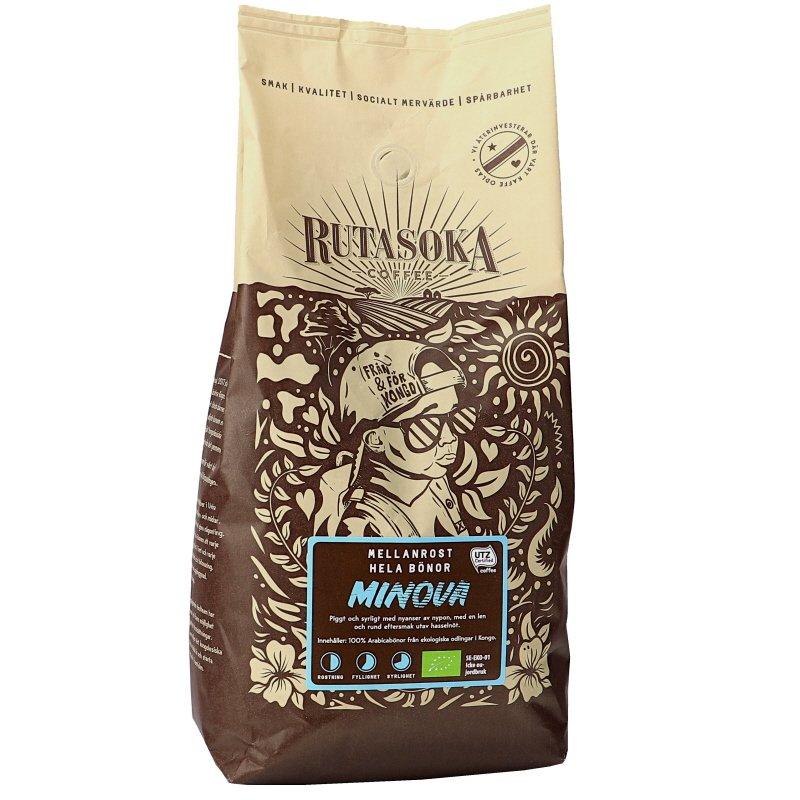 Luomu Kahvipavut Minova - 31% alennus