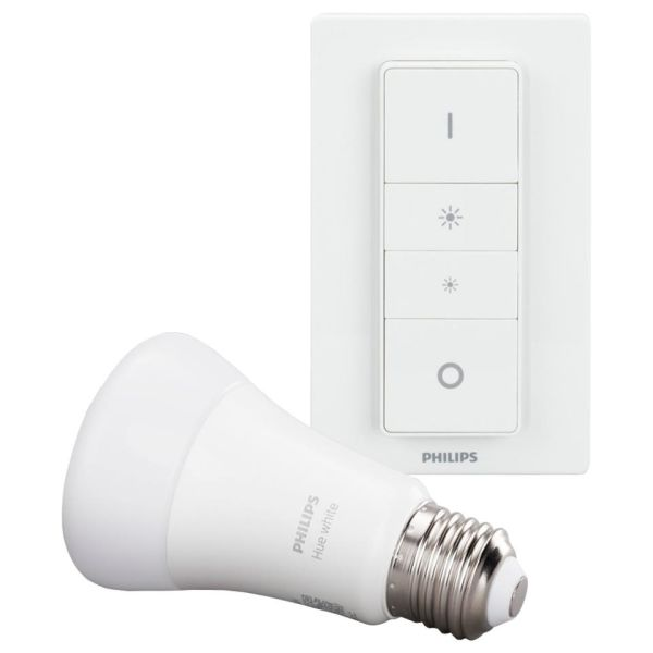 Philips Hue Dim LED-valo himmentimellä, E27, 9W
