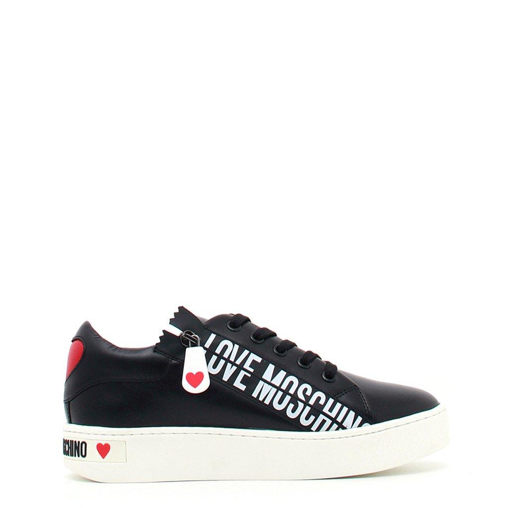 Love Moschino Women's Trainer Black JA15093G1DIA0 - black EU 35
