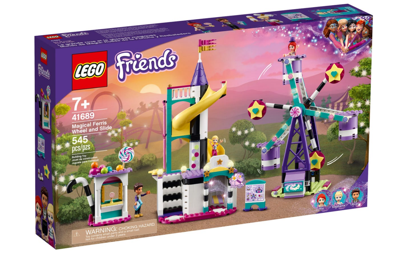 LEGO Friends - Magic Ferris wheel and roller coaster (41689)