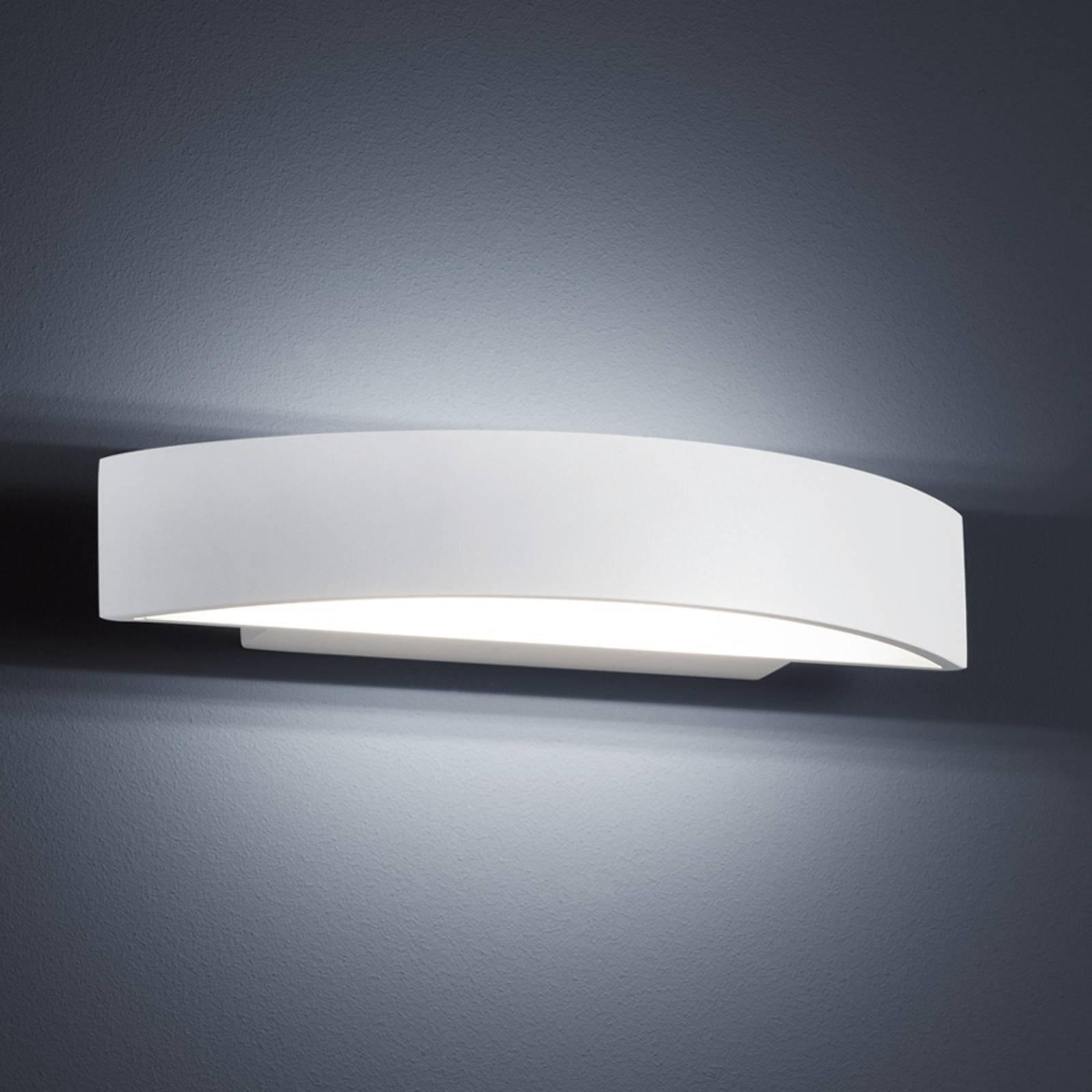 Helestra Yona – LED-vegglampe, hvit 27,5 cm