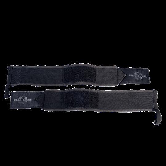 Heavy BB Wrist Wraps 18inch, Black
