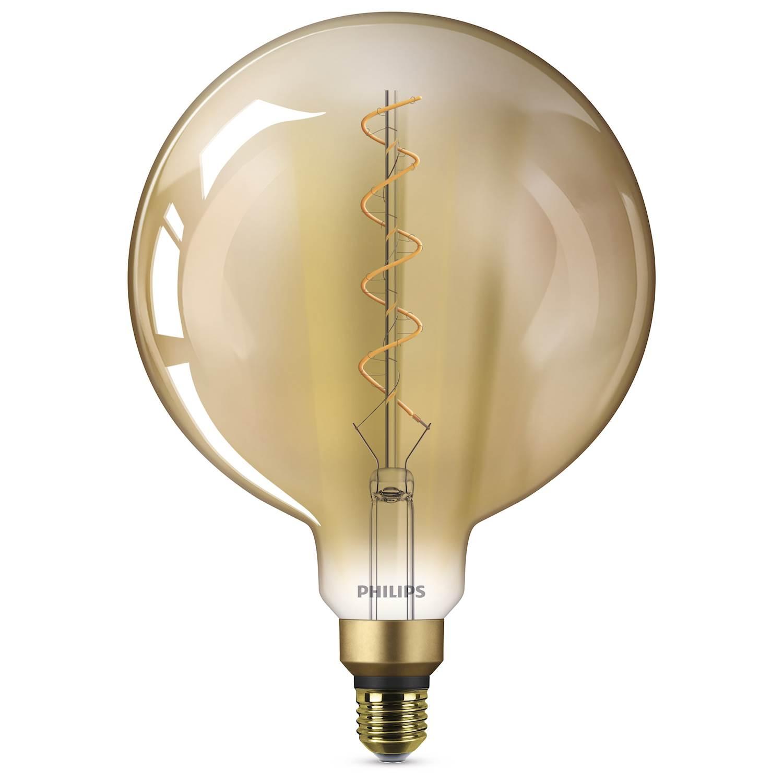Philips LED GIANT 5W E27 GULD FL.ND