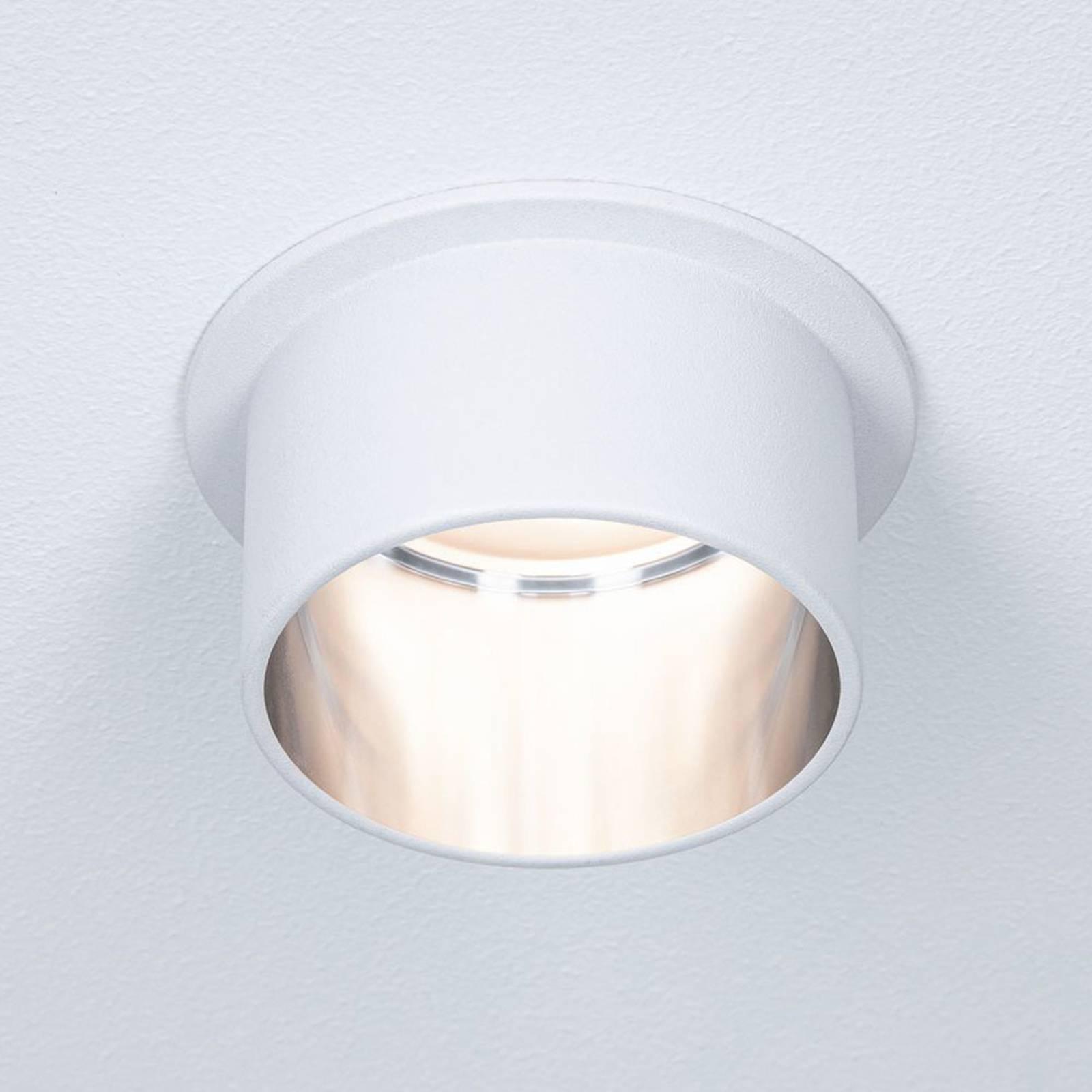 Paulmann Gil -LED-uppovalo, mattavalkoinen/rauta