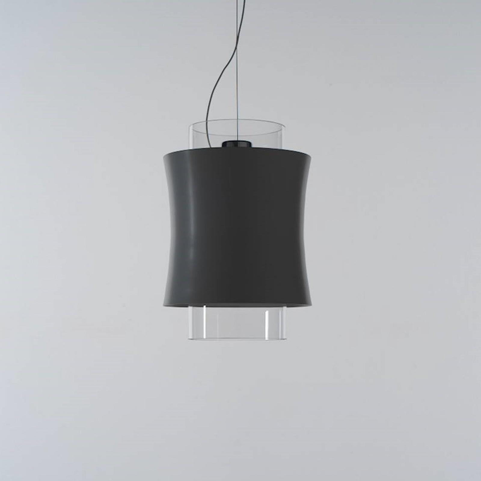 Prandina Fez S1 -riippuvalo, musta