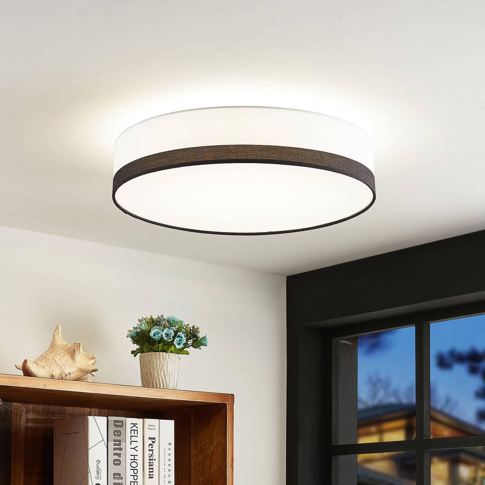 Lindby Laia -LED-kattovalaisin, Ø 50 cm