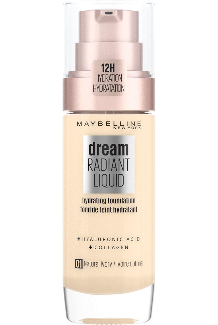 Maybelline - Dream Radiant Liquid Foundation - 1 Natural Ivory