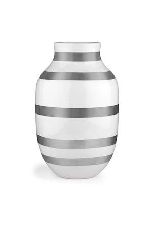 Omaggio Vase Sølv 30,5 cm