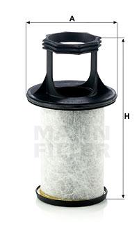 Suodatin, kampikammiotuuletus MANN-FILTER LC 5003/1 x