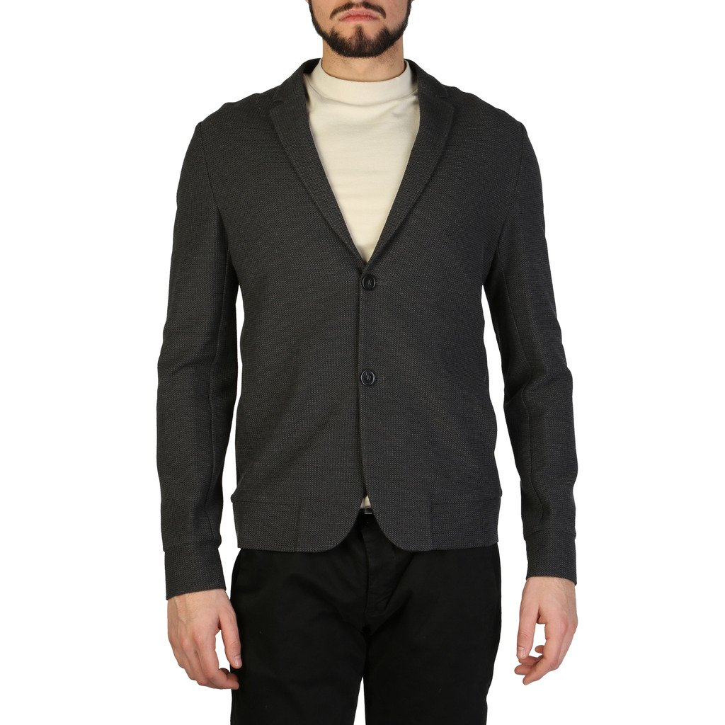 Emporio Armani Men's Jacket Grey S1G820_S1245 - grey 44