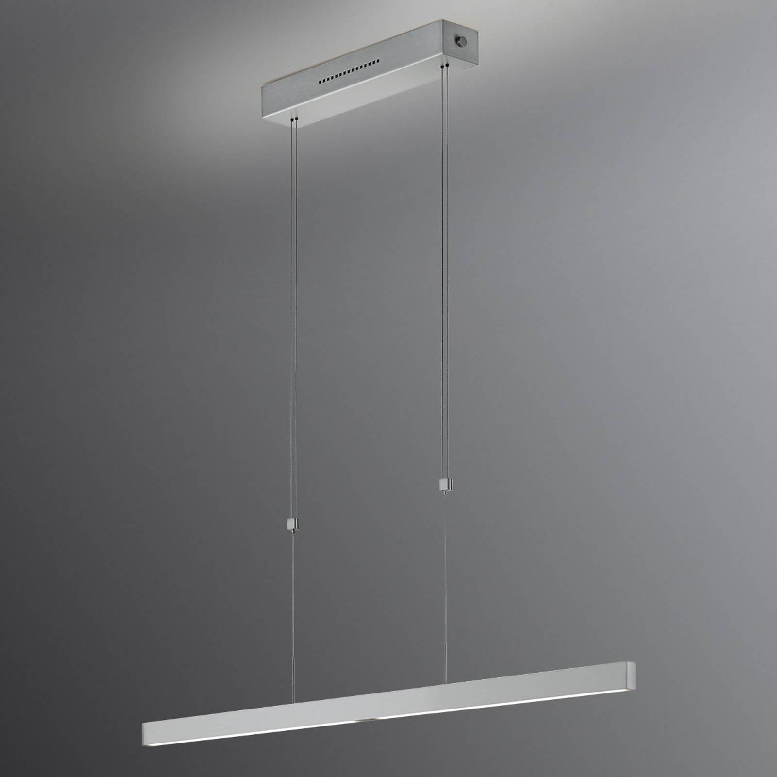 Pia-LED-riippuvalo, eletunnistin, nikkeliä 68 cm