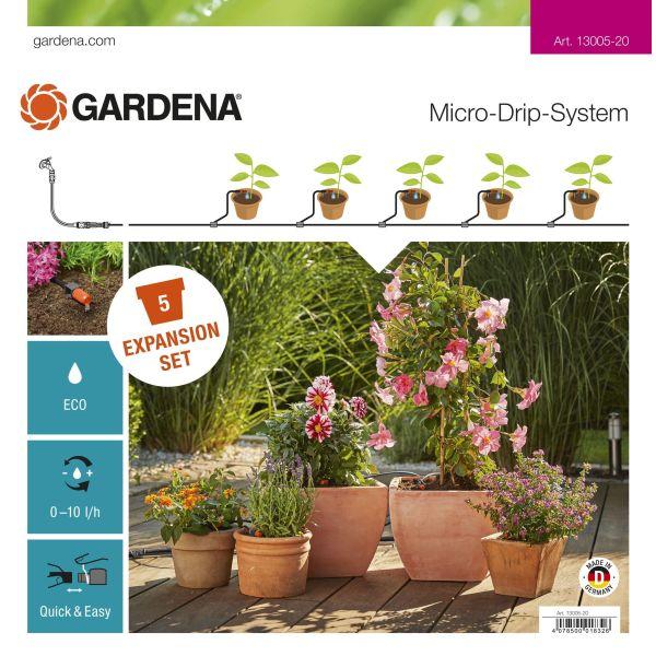 Gardena Micro-Drip-System Lisäosa kukkaruukuille