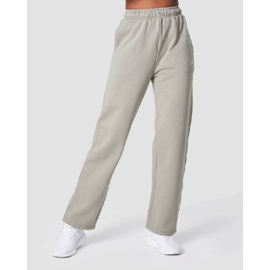 Essential Straight Sweatpant, Greige