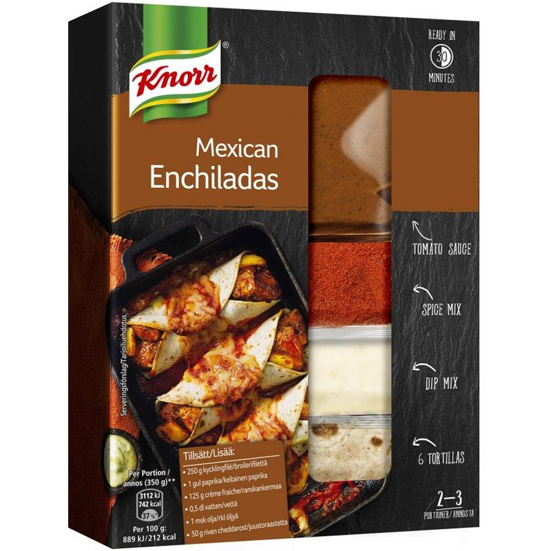 "Ateria-ainekset ""Mexican Enchiladas"" 237 g - 29% alennus"
