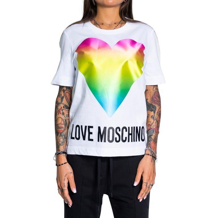 Love Moschino Women's T-Shirt White 190780 - white 38