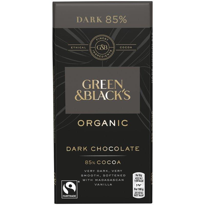 Luomu Tumma Suklaa 85% - 33% alennus