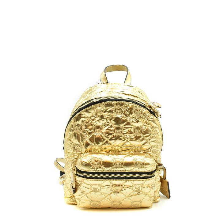 Moschino Women's Backpack Gold 186123 - gold UNICA