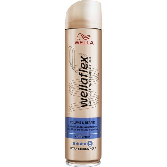 WellaFlex Hairspray Volume & Repair Ultra Strong, 250 ml Wella Styling Muotoilutuotteet