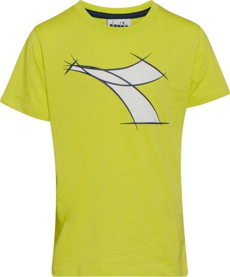 Diadora T-Shirt, Wild Lime Green S