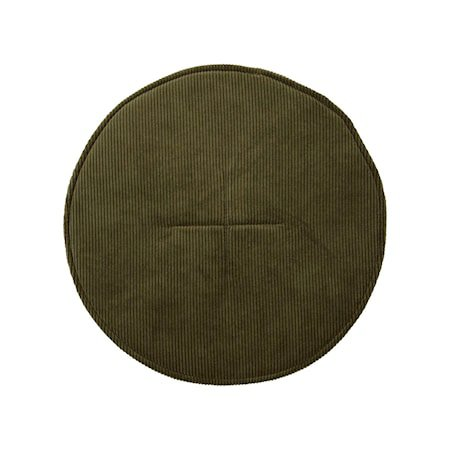 Sittepute Cord Grønn 35 cm
