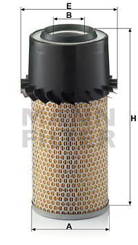 Ilmansuodatin MANN-FILTER C 15 250