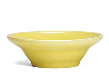 Ursula Dyp tallerken Ø22 cm gul (13095)