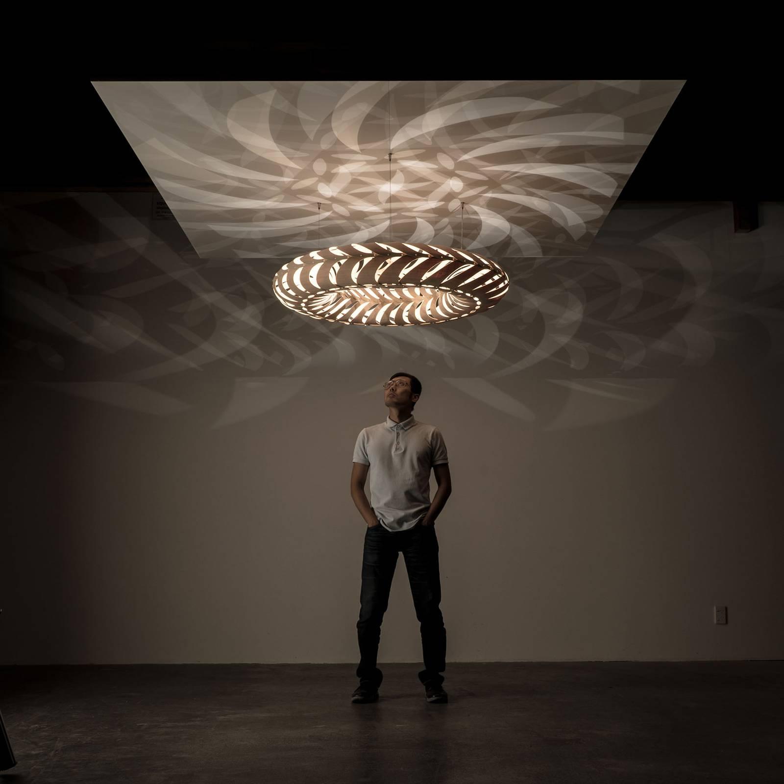 david trubridge Maru -riippuvalo 110 cm luonnon