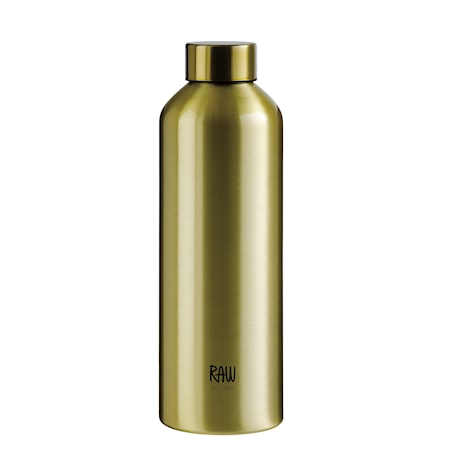 Raw To Go Flaska Aluminium Gold 0,75 L
