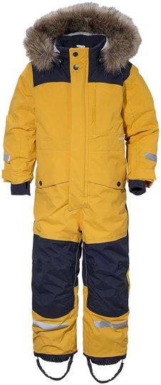 Didriksons Polarbjörnen Vinterdress, Oat Yellow 100