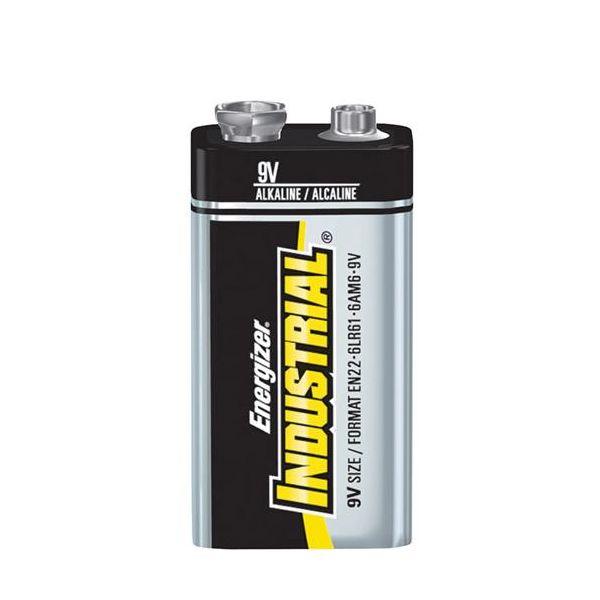 Energizer Industrial 9V/6LR61 Alkalisk batteri 12-pakning