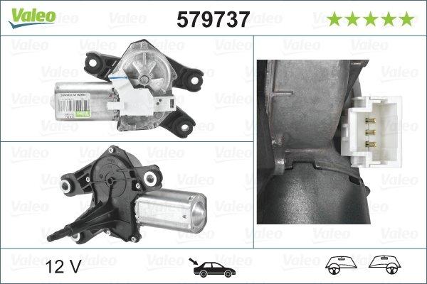 Pyyhkijän moottori VALEO 579737