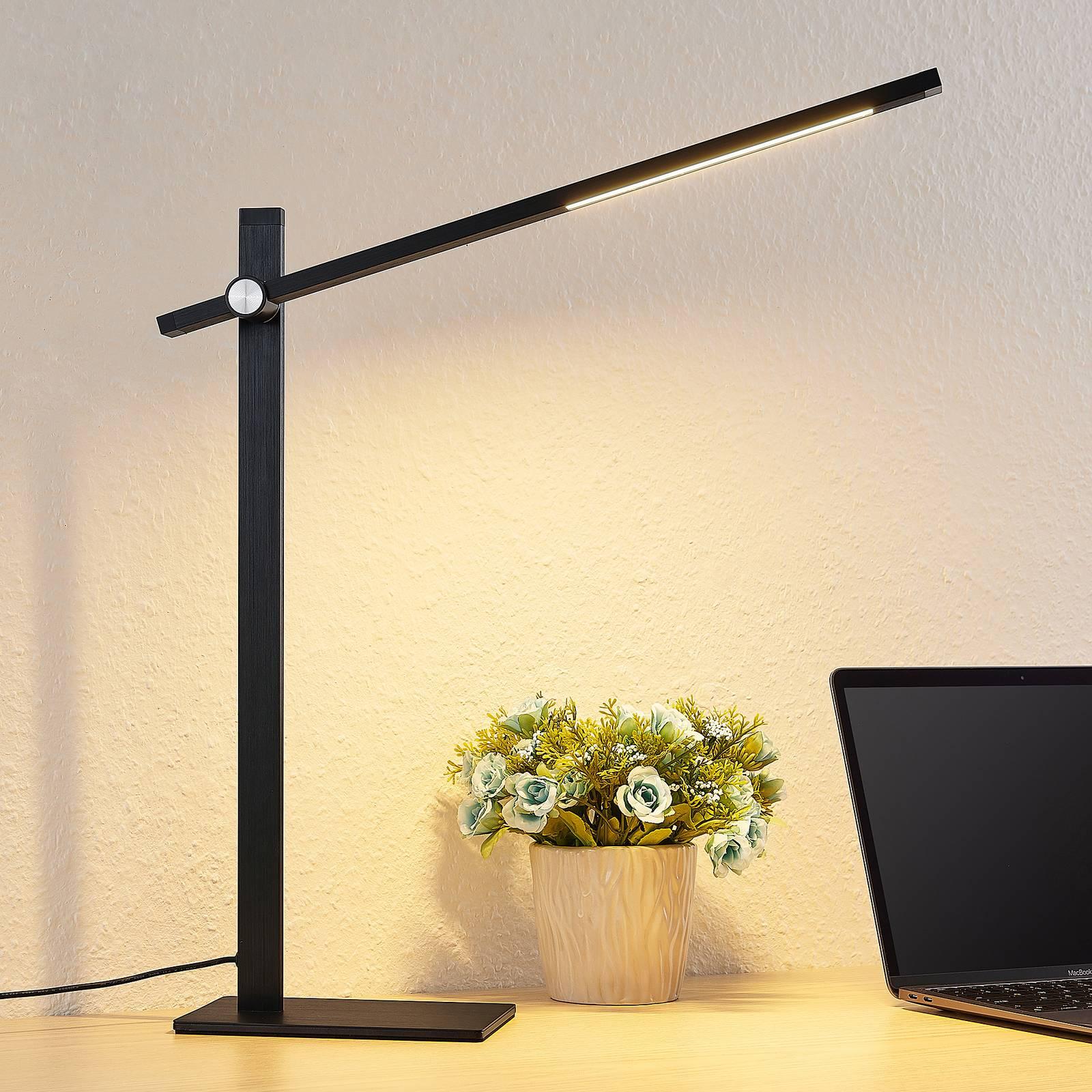 Lucande Wasko -LED-pöytälamppu