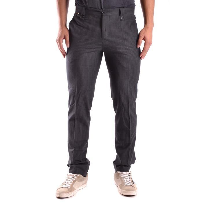 Bikkembergs Men's Trouser Black 170722 - black 48