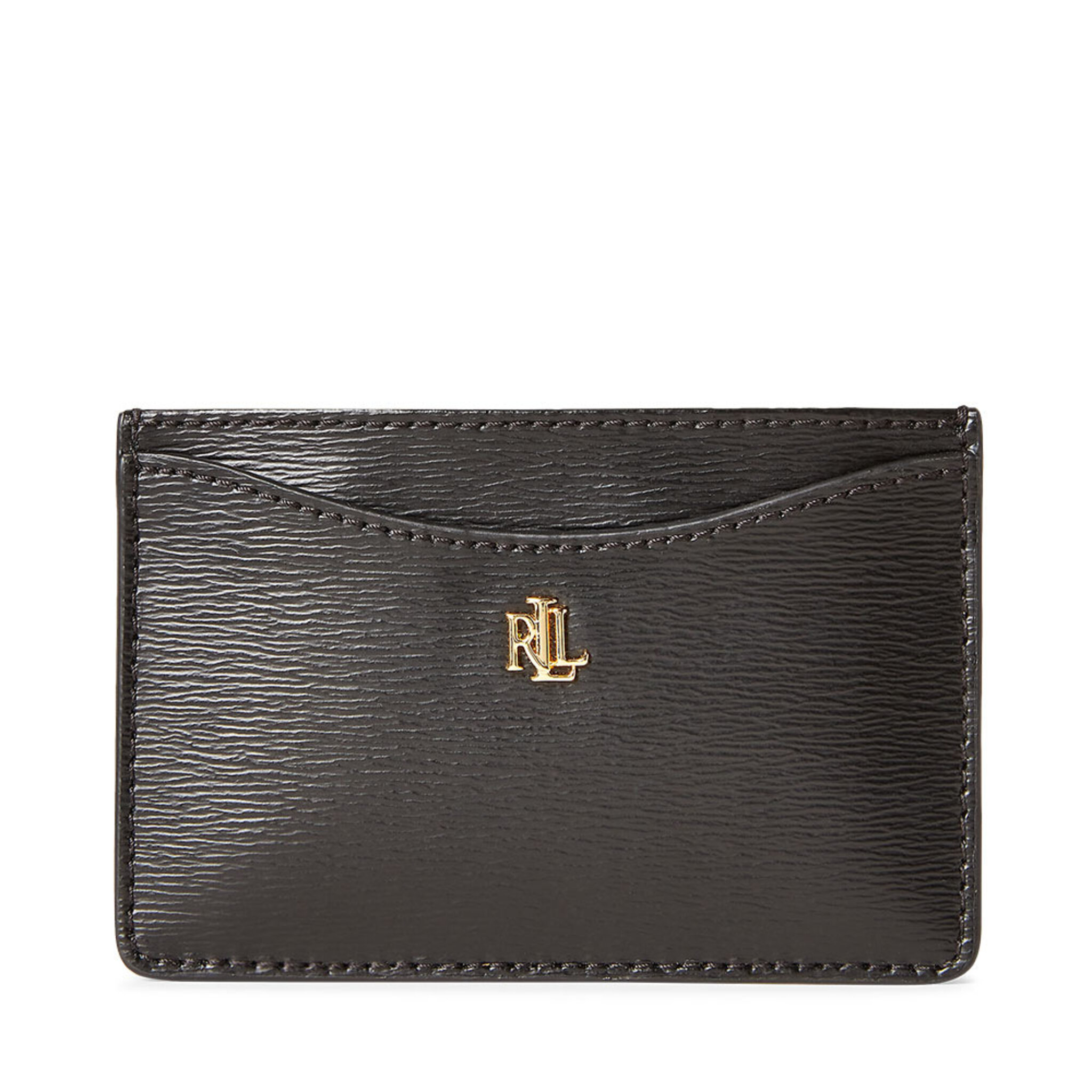 Saffiano Leather Card Case, ONE SIZE