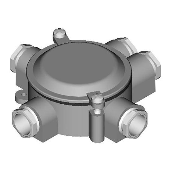 Garo USE 17 Kytkentärasia Kierre 22,5 2 oikealle, 1 vasemmalle, 1 alas, 1 ylös